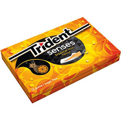 Picture of Past TRIDENT Senses Tropical 23gr