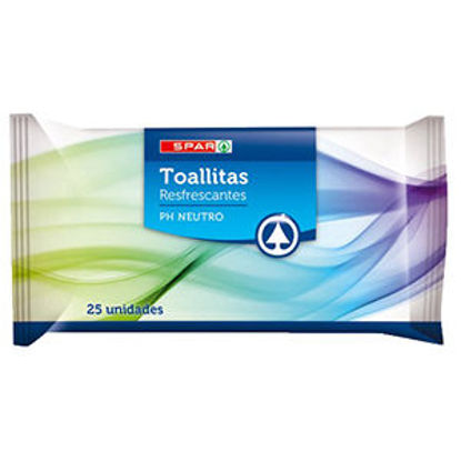 Picture of Toalhitas SENSATIONS Refres Multius 25un