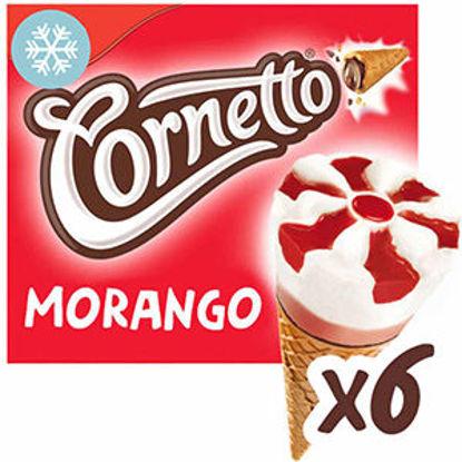 Picture of Gelado OLA Corneto Morango 6x90ml
