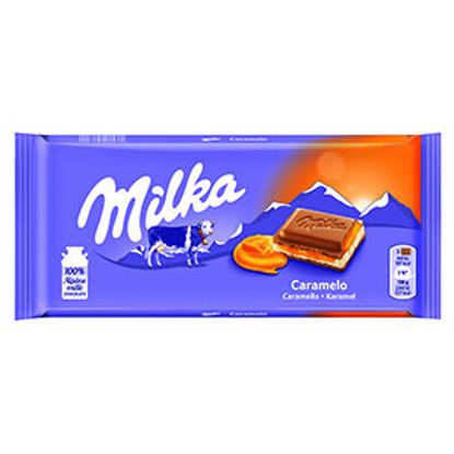 Picture of Choc MILKA Caramelo 100gr