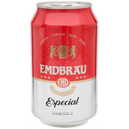 Picture of Cerveja EMDBRAU Especial Lata 0,33lt