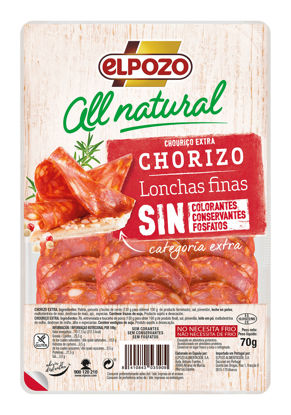 Picture of Chouriço ELPOZO All Natural 70gr
