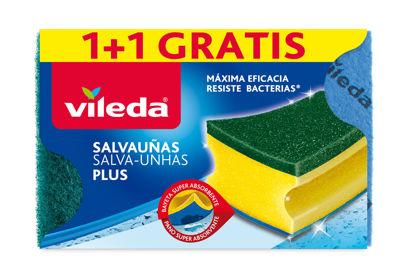 Imagem de Esfregão VILEDA Salva Unhas Antibact 1+1un