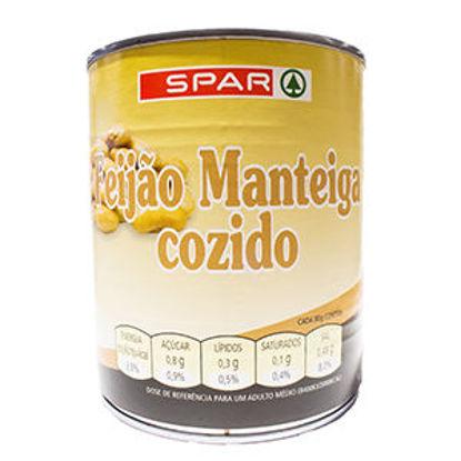 Picture of Feijão SPAR Manteiga Cozido Lata 820gr