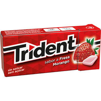 Picture of Past TRIDENT Fruit Morango 14,5gr