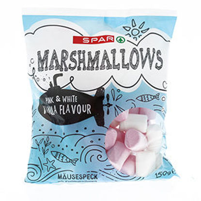 Picture of Marshmallow SPAR Baunilha Morango 150gr