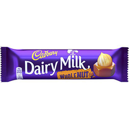 Picture of Choc CADBURY Dairy Milk Wholenut 45gr