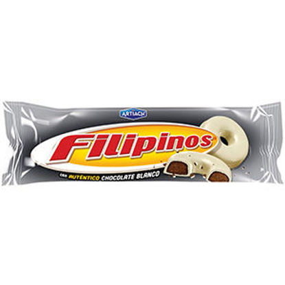 Picture of Bolacha FILIPINOS Choc Branco 135gr