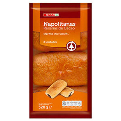 Picture of Bolo SPAR Napolitanas Chocolate 320gr