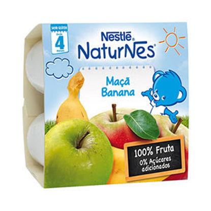 Imagem de Puré Fruta NESTLE Maçã Banana 4x100g