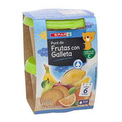 Picture of Puré Fruta SPAR Bolacha 2x200gr