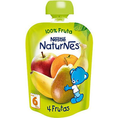 Picture of Pure NESTLE 4 Frutas 90gr