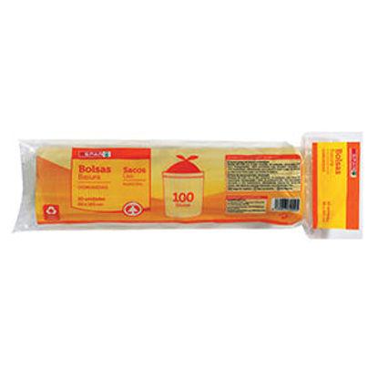 Imagem de Sacos Lixo SPAR Amarelos 85X105 10Un