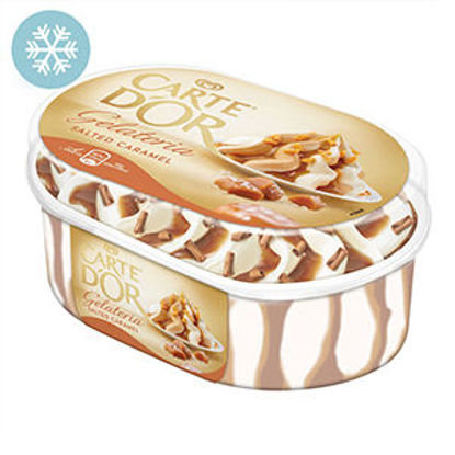 Picture of Gelado CARTE DOR Salted Caramel 900ml