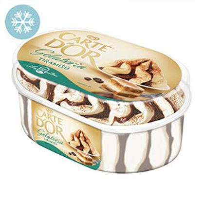 Picture of Gelado CARTE DOR Tiramisu 900ml