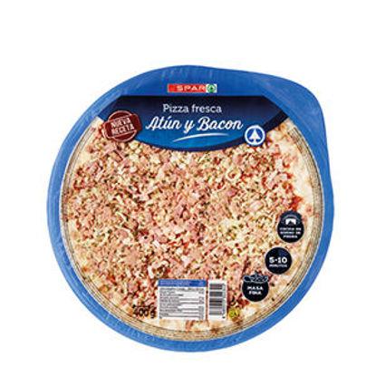 Picture of Pizza SPAR Refrigerada Atum Bacon 400gr