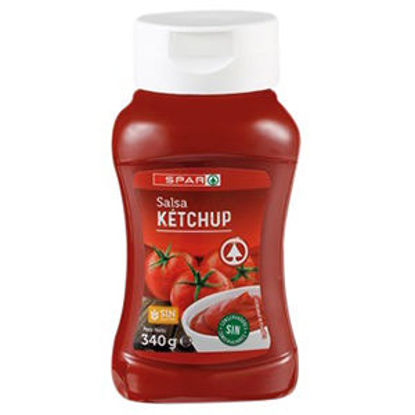 Picture of Ketchup SPAR Top Down 340gr