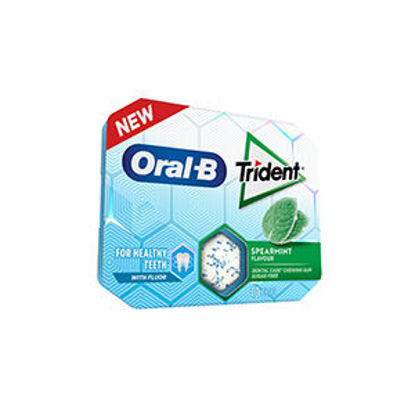 Picture of Past TRIDENT Oral B Spearmint 17gr