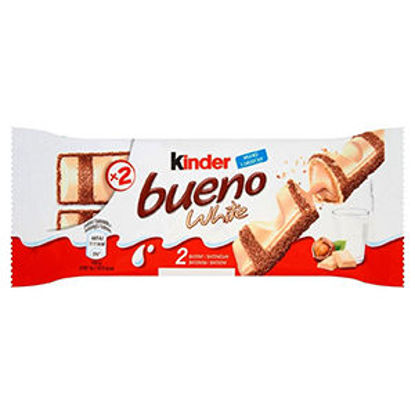 Picture of Choc KINDER Bueno White T/2 39gr