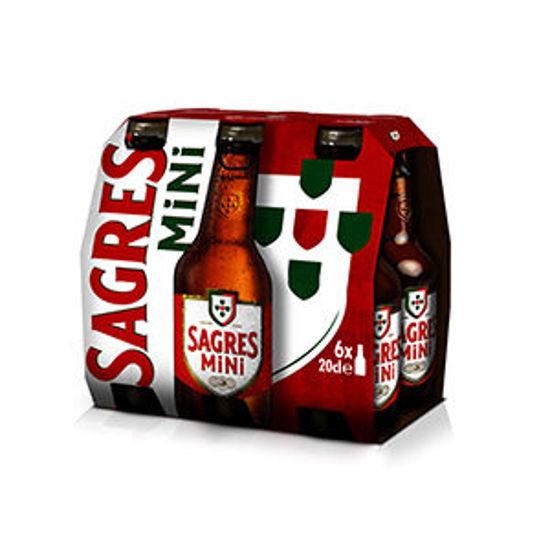 Picture of Cerveja SAGRES Brc Mini Easy Op 6x0,20lt