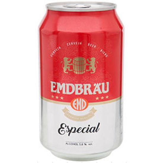 Imagem de Cerveja EMDBRAU Especial Lata 0,33lt