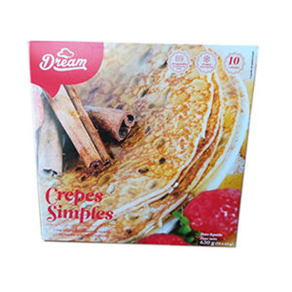 Imagem de Crepes DREAM LIVE HAPPY Simples 630g