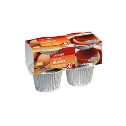 Picture of Pudim Flan SPAR Ovo 4x100gr