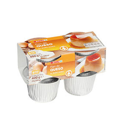 Picture of Pudim Flan SPAR Queijo Banh Maria 4x125gr