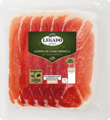 Picture of Presunto ELPOZO Ibérico Fat 60gr
