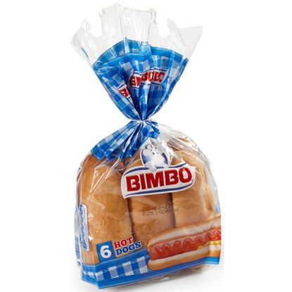 Imagem de Pãezinhos BIMBO Hot Dog 300gr