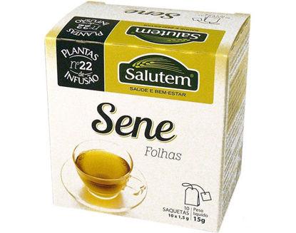 Picture of Chá SALUTEM N22 Sene Folhas 10 Saquetas