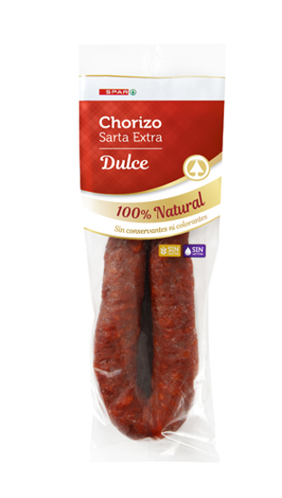 Picture of Chourico SPAR Sarta Extra Dulce 280gr