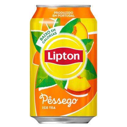 Imagem de Ice Tea LIPTON Pêssego Lata 33cl