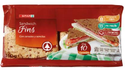 Imagem de Pão SPAR Sandwich Thins 310gr