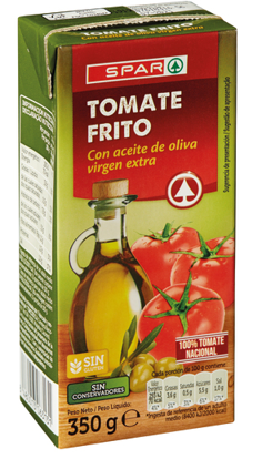 Picture of Tomate SPAR Frit C/Azeit Virgem Ext Brick 350gr
