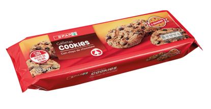 Imagem de Bolacha SPAR Cookies Choc Preto 225gr