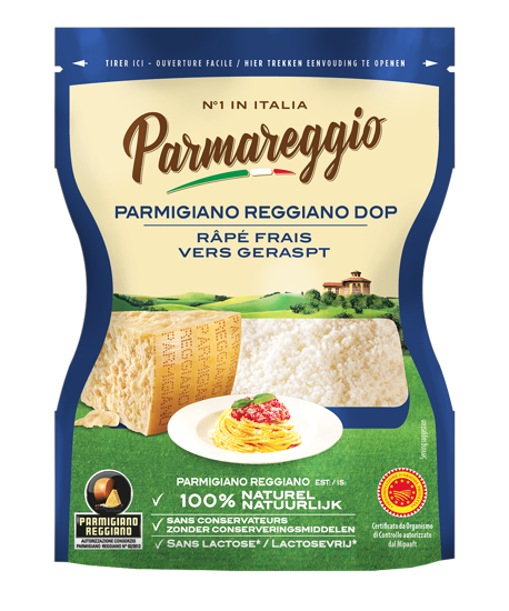Picture of Qj FRESH GRATED Parmig Reggiano 60gr