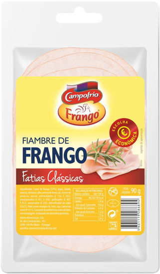 Picture of Fiambre CAMPOFRIO Econ Fat Frango 90gr