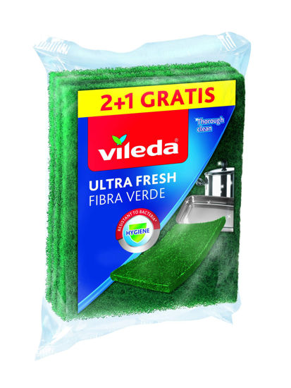 Picture of Fibra Verde VILEDA Ultra Fresh 2+1 un