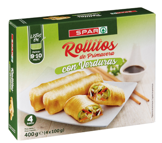Picture of Crepes SPAR Primavera Verduras 4x100gr