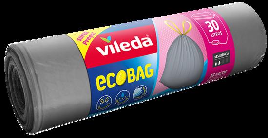 Imagem de Sacos Lixo VILEDA Ecobag 15x30lt un