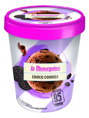 Imagem de Gelado LA MENORQUINA Choco/Cookie 500ml