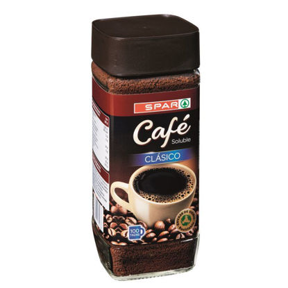 Imagem de Café SPAR Solúvel Natural 100gr