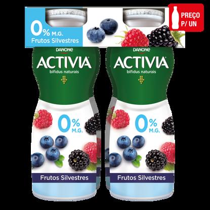 Imagem de Iog ACTIVIA Liq 0% Frut Silvestres 155gr