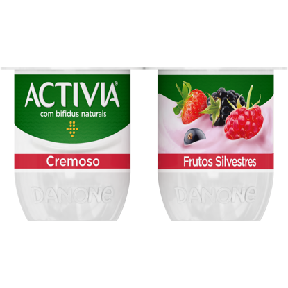 Picture of Iog ACTIVIA Cremoso 0% Fr Silvest 4x120gr