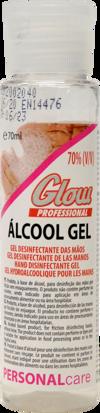 Imagem de Gel Maos Desinf GLOW 70% Alcool 70ml