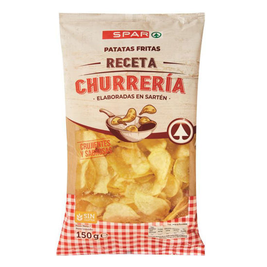 Picture of Bat Frit SPAR Tipo Churrasqueira 150gr