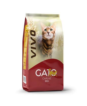 Imagem de Alim Gato VIVO Carne 2kg