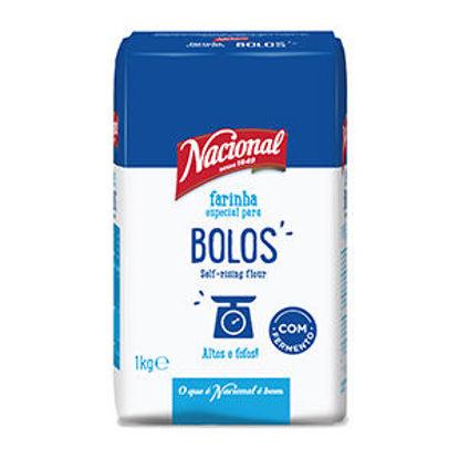 Imagem de Farinha NACIONAL Bolos 1kg