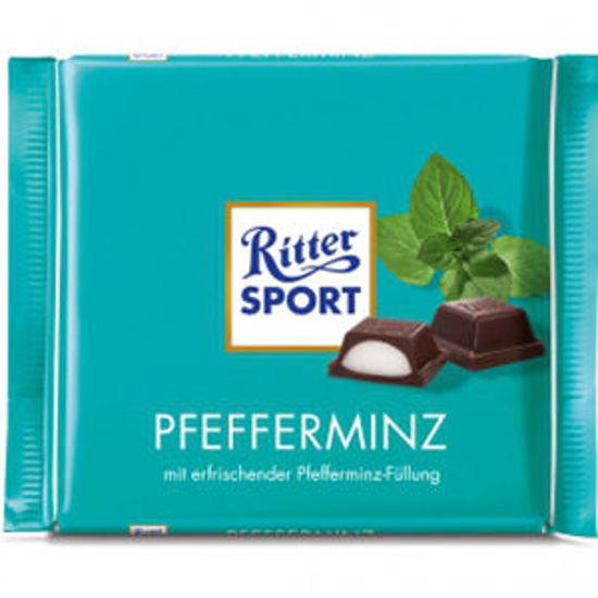 Picture of Choc RITTER SPORT Menta 100gr